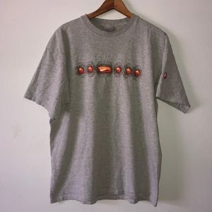 Vintage 90s Nike Made In USA graphic t-shirt grey